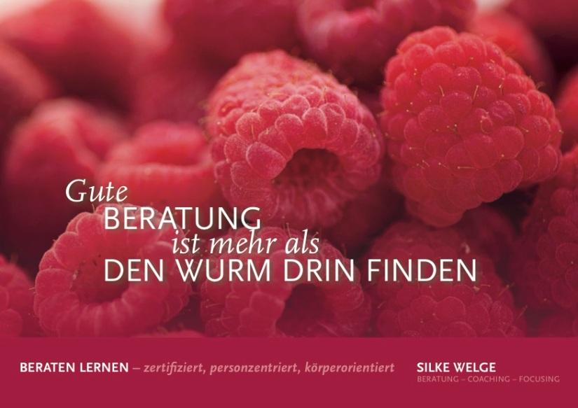 Weiterbildung Personzentrierte Beratung startet am3.12.2018